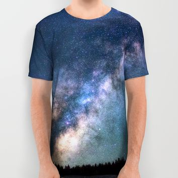 Milky Way Art Print by Gallery One