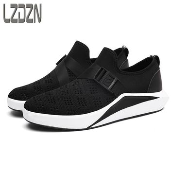 No lazy net net surface movement shoe laces breathable mesh shoes youth summer summer light section of junior middle school stud