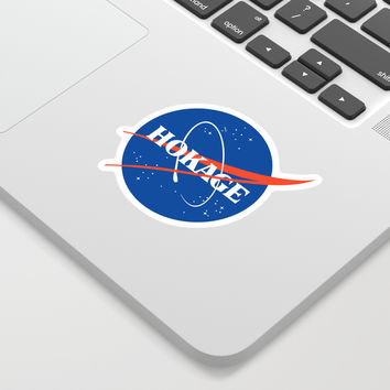 NASA HOKAGE LOGO Sticker by kspich
