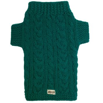 Emerald Hand-knitted Jumper