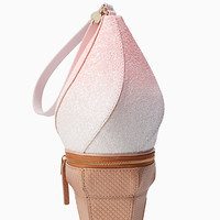 flavor of the month ice cream wristlet