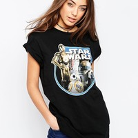ASOS T-Shirt with Star Wars Print at asos.com