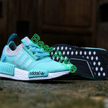 Really Cheap Adidas NMD R1 GS Japan Tiffany Blue Hyper Teal White Authentic shoe