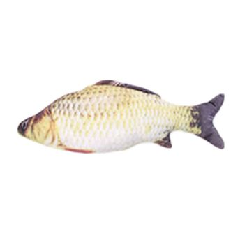 New Grass Carp Toy Crucian Carp Toys Cat Artificial Fish Cat Toy Scratching Cat Pillow Chew Cat Toys Interactive Pet Accessories