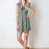 Felicity Floral Bow Tie Dress-FINAL SALE