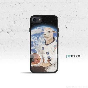 Astronaut Llama Phone Case Cover for Apple iPhone iPod Samsung Galaxy S & Note