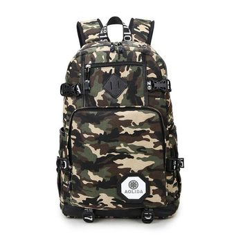 Student Backpack Children AOLIDA Men's Backpacks Bolsa Mochila Canvas Casual Printing Men And Women Laptop Backpack Men Bags School  2017 AT_49_3