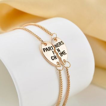 Partners In Crime  Bracelets