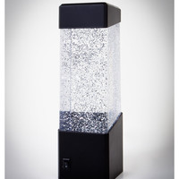 LED Color Changing Glitter Lamp