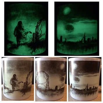 Scary Stories To Tell In The Dark Glow In The Dark Ceramic Mug
