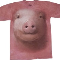 Pig Face The Mountain Tee Shirt Adult M-XXXL
