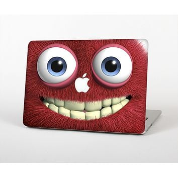 """The Red Smiling Fuzzy Wuzzy Skin for the Apple MacBook Air 13"""""""