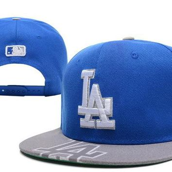 Brooklyn Dodgers Mlb Cap Snapback Hat - Ready Stock