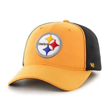 NFL '47 Draft Day Closer Stretch Fit Hat Pittsburgh Steelers