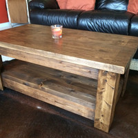 Rustic Coffee Table (Pick up Only)