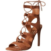 Dolce Vita Womens Howie Studded Heels Gladiator Sandals