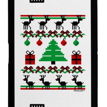 Tree with Gifts Ugly Christmas Sweater Black Jazz Kindle Fire HD Cover