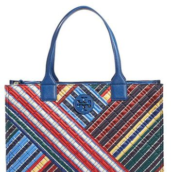 Tory Burch 'Ella - Quilted Stripe' Tote | Nordstrom