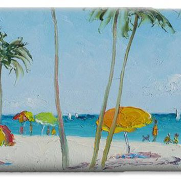 Hollywood Beach Florida and Coconut Palms iPhone 6 Case