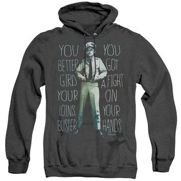 Andy Griffith Show Heather Hoodie Fight Quote Black Hoody