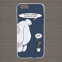 I am Baymax I am Groot New friends iPhone 4/4S, 5/5S, 5C Series Hard Plastic Case