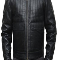 BNH Star Wars Darth Vader Black Leather Jacket