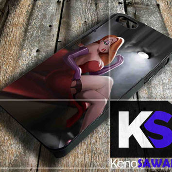 Jessica Rabbit Smoking - iPhone 4/4S, 5/5S, 5C and Samsung Galaxy S3 i9300, S4 i9500 case.