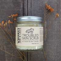 Organic Troubled Skin Scrub - for oily, chaotic skin