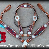 Floral Beauty Tack Set