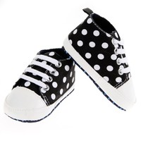 Infant Girls Boy Shoes Soft Bottom Shoes Dot First Walker Baby Toddler Shoes