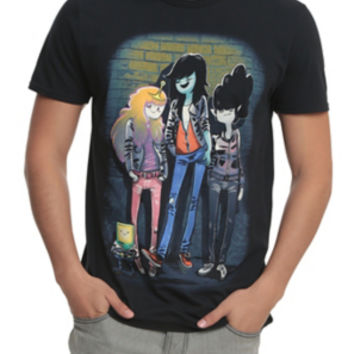 Adventure Time Marceline And The Scream Queens T-Shirt
