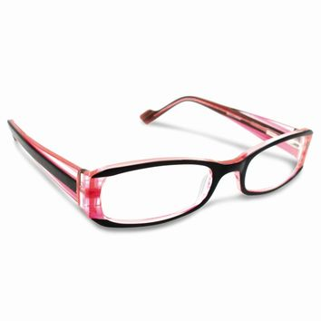 Red and Black 2.25 Magnification Reading Glasses
