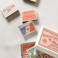 Annees Folles Matchbox Set by Anthropologie Pink One Size Candles