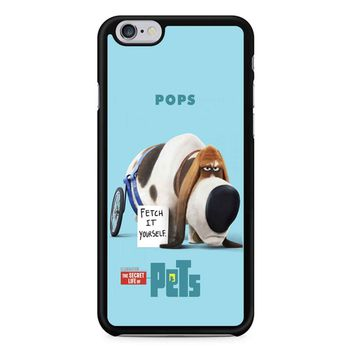 The Secret Life Of Pets Pops Poster iPhone 6/6s Case