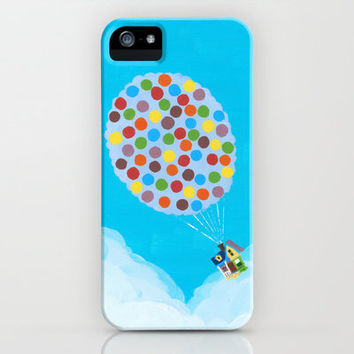 Up - Disney/Pixar iPhone & iPod Case by Justine Shih