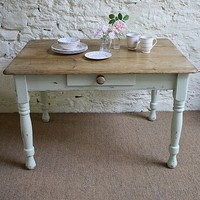 Victorian Distressed Pine Table