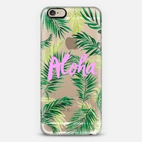 Aloha Palm Trees MINI iPhone 6 case by Sharon Juan | Casetify