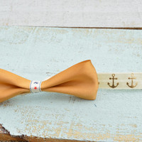 Anchor Hairbow Headband