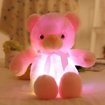 Light Up LED Glowing Teddy Bear