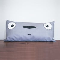 Totoro Lumbar Pillow Cover
