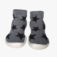 Nununu Star Slippers Shoe in Grey - NC0100 - Only 22/23 left