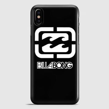 Billabong Logo Surfing Clothing iPhone X Case