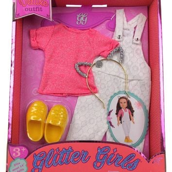 """Glitter Girls Deluxe Outfit Fits Most 14"""" Dolls Glisten and Glam"""