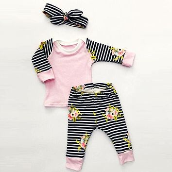 Baby Girls Clothing Sets Newborn Baby Clothes Fashion Baby Girl Clothes Infant Kids Clothes