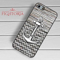 nautical anchor on wood chevron-1y4n for iPhone 4/4S/5/5S/5C/6/ 6+,samsung S3/S4/S5,S6 Regular,S6 edge,samsung note 3/4
