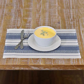 Samantha Blue Placemat - Set of 6