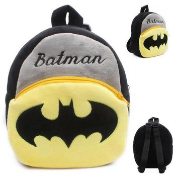 Kids Plush Character Backpack