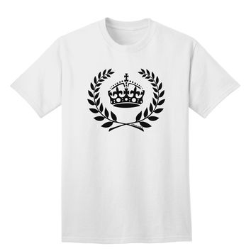 Crown and Laurel Adult T-Shirt