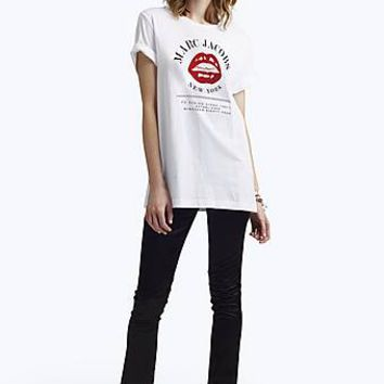 Lips Logo Tee — Marc Jacobs