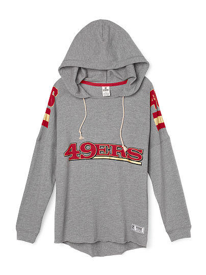 8b625c27 San Francisco 49ers Pullover Hoodie - PINK - Victoria's Secret